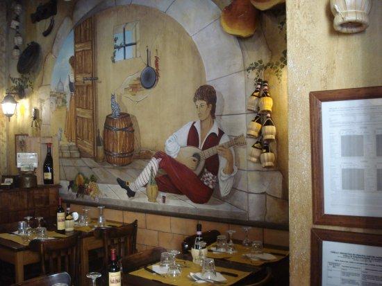 Antica Osteria Rugantino: Interno Rugantino