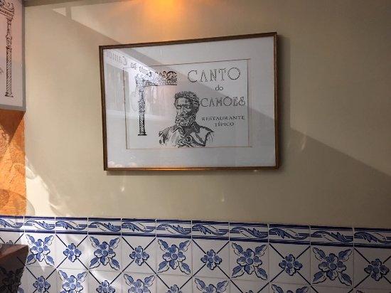 Restaurante Canto do Camoes
