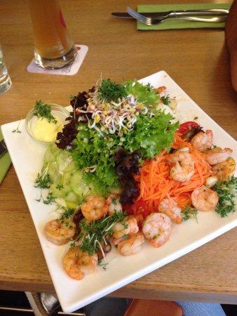 Ein Besucht Lohnt Sich Man Wird Nicht Enttauscht Von Salat Fisch