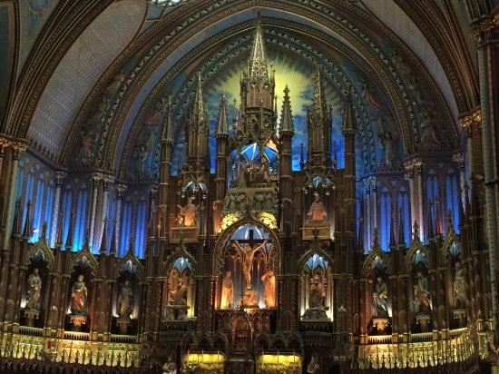 Μόντρεαλ, Καναδάς: Notre-Dame Basilica