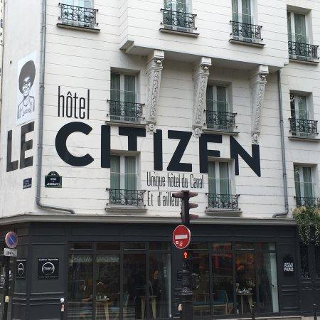 Le Citizen Hotel: Facade