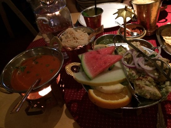 Jewel of India: one of the dishes...