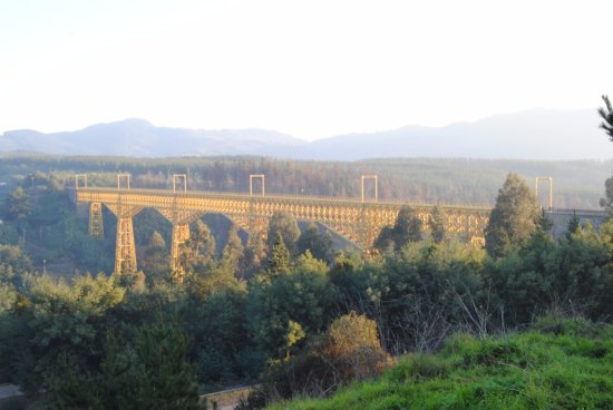 Provinz Arauco, Chile: Viaducto Malleco
