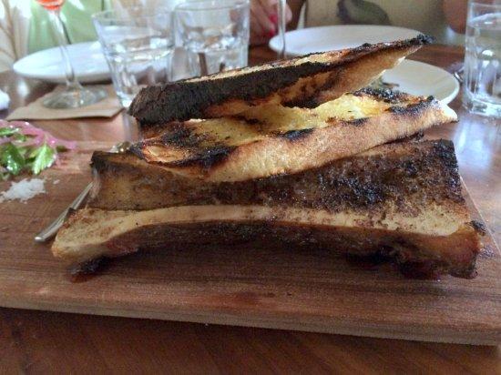Bone Marrow With Crusted Bread