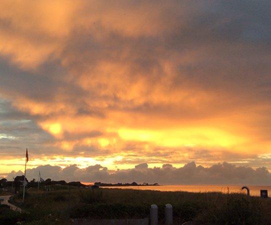 Hotel Haus am Meer: Sonnenuntergang in Hohwacht an der Ostsee