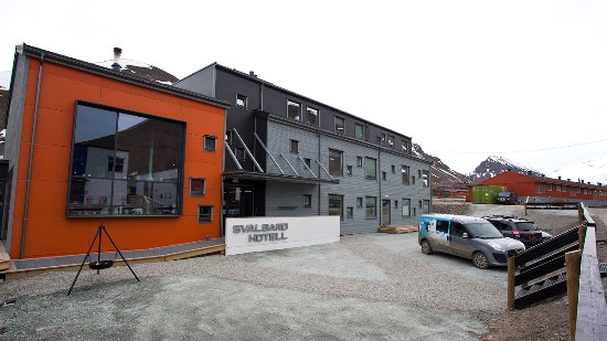 Svalbard Hotel: Vooraanzicht hotel