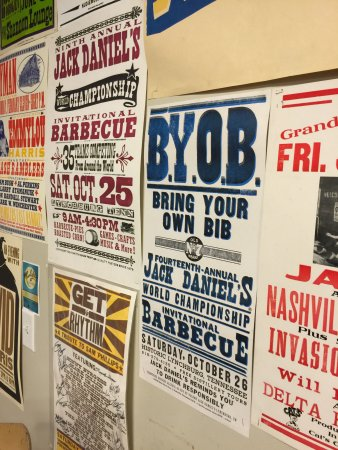 Hatch Show Print: back room posters
