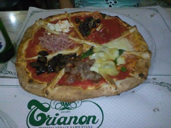 Hotel Nuovo Rebecchino: Pizzeria consigliataci