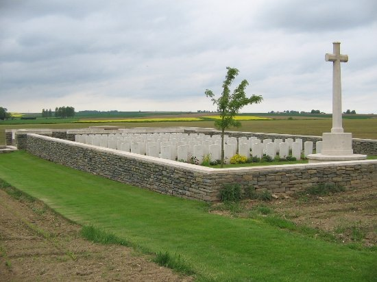 New Munich Trench British Cemetery