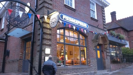 Garden Picture Of Pizza Express Uckfield Tripadvisor