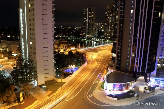 Hi Surf Beachfront Resort Apartments: View from balcony