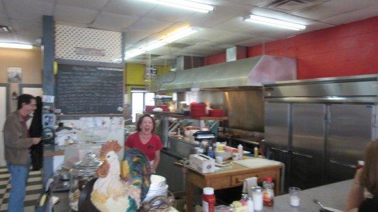 Ellsworth, Maine: Martha's kitchen area
