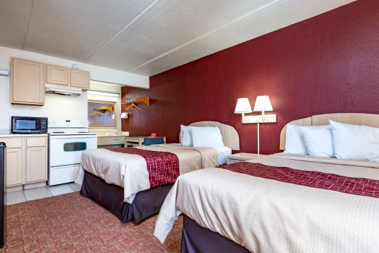 Red Roof Inn Port Aransas: Deluxe Double Kitchen