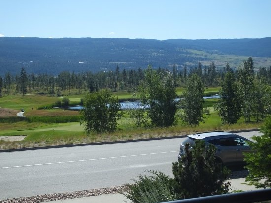 A Vacation Paradise at Quail Ridge B & B: View from the house balcony