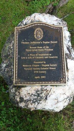 Poplar Forest plague
