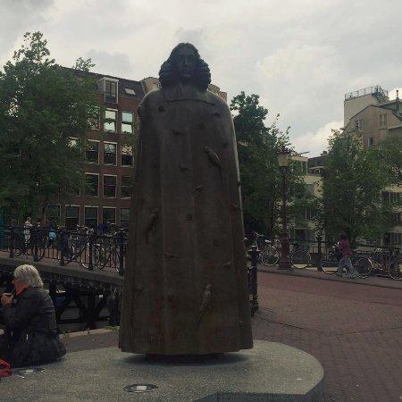 Jewish History Walking Tour: Spinoza Monument