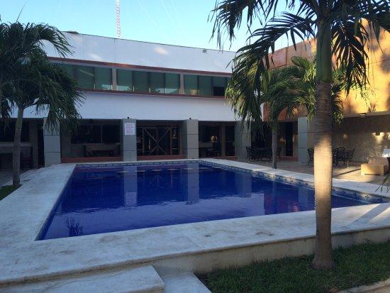 Hotel Plaza Mirador: Zona alberca
