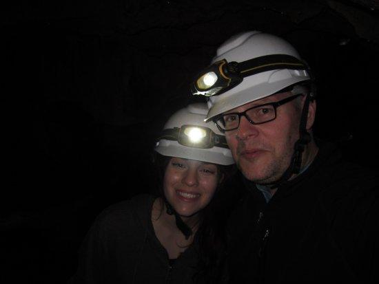 Horne Lake Caves Provincial Park: Cave selfie