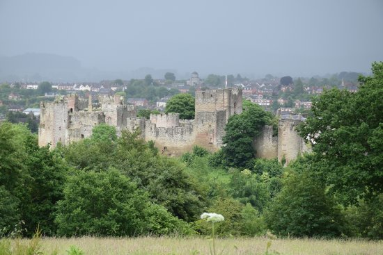 Downton on the Rock, UK: Ludlow Castle