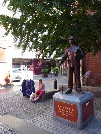 Punthill Little Bourke: Waiting outside Little Bourke