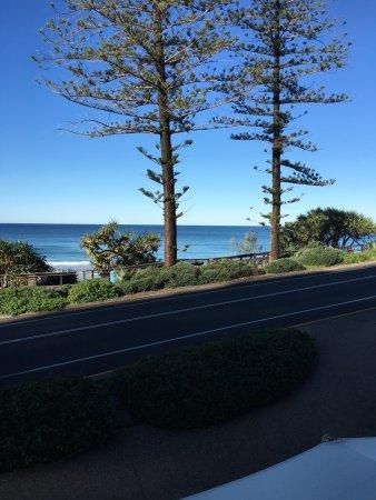 Coolum Beach, ออสเตรเลีย: 1st floor balcony looking South