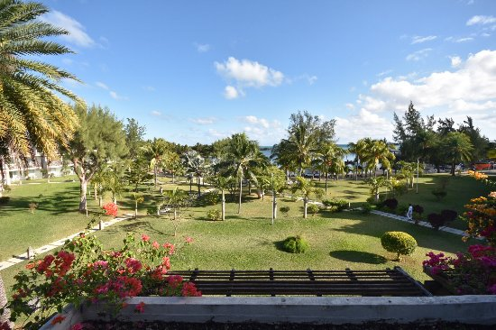 LUX* Grand Gaube: View from balcony