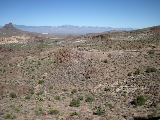 Sitgreaves Pass: View from Shaffer Fishbowl Spring