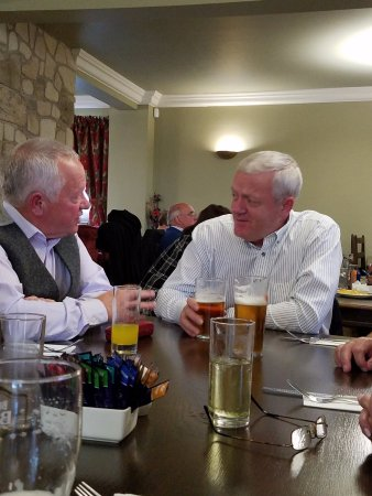 Corbie Inn: Brothers and a beer.