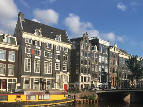 Singel Hotel Amsterdam : Just down the street from the Singel Hotel