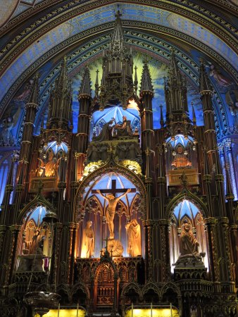 Монреаль, Канада: Notre-Dame Basilica
