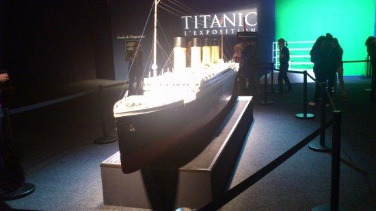 Exposition Titanic: bateau