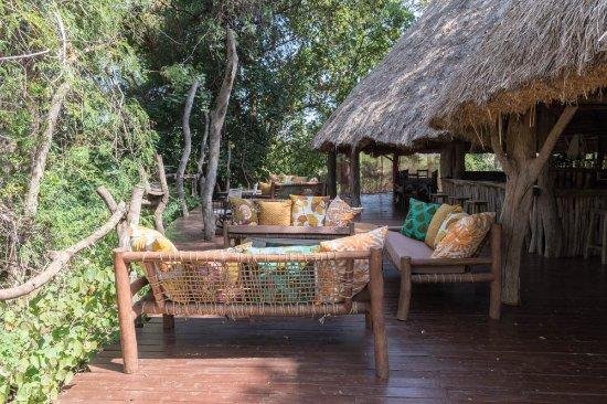 Ndarakwai Ranch Camp: The bar area