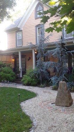 "Onancock, VA: My room was upstairs in the ""big house."""