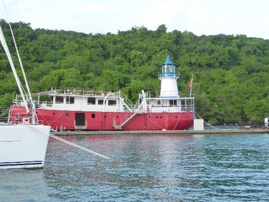 Petite Calivigny, Grenada: Le Phare Blue Boat Restaurant
