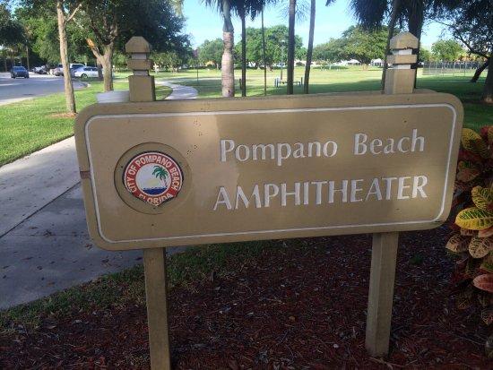 Photo1jpg Picture Of Pompano Beach Amphitheatre Tripadvisor