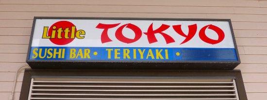 Little Tokyo: Sign on the street