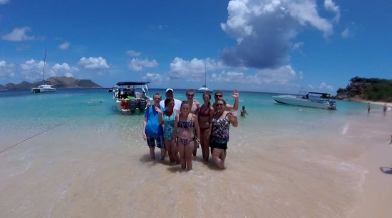 Oyster Pond, Saint-Martin / Sint Maarten: Tintamarre beach after swimming with the turtles