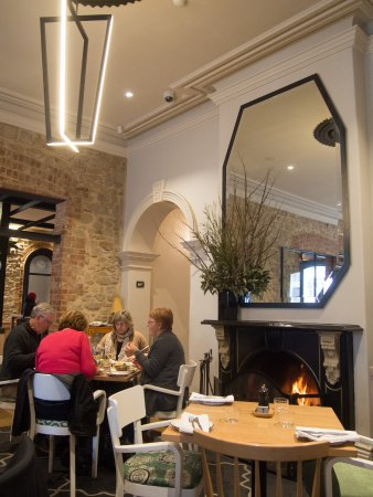 One of the Crafers Hotel open fireplaces - Picture of The Crafers Hotel -  Tripadvisor