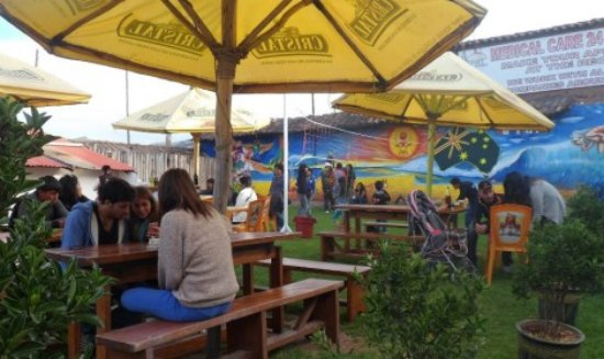 The Point Cusco: Garden