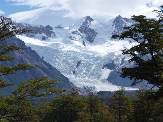 Laguna Torre: el glaciar del cerro Torre, en todo su esplendor