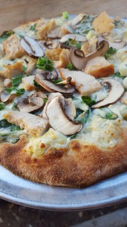 Pizza Carrello: Spinach Artichoke Pizza
