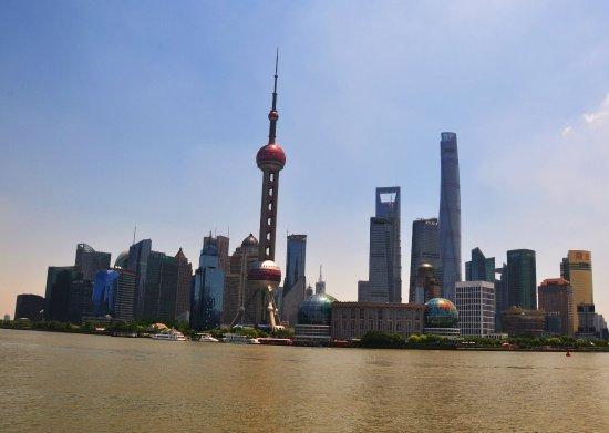 Набережная Вайтань (Банд): View of Pudong from the Promenade