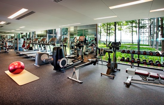 Crowne Plaza Changi Airport: Fitness Centre