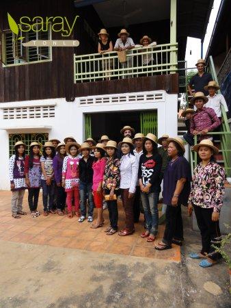 Saray Tonle Community Based Ecotourism: WHW hat2