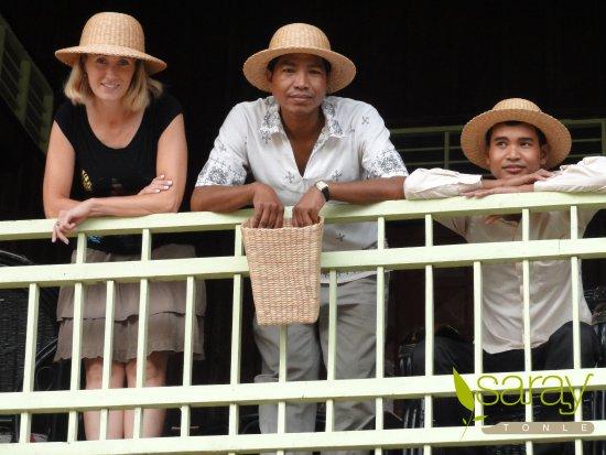 Saray Tonle Community Based Ecotourism: WHW hat4