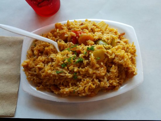 Downey, CA: Jambalaya lunch
