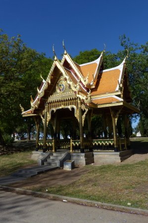 Fall Comes To Garden Of Thai Pavilion >> Thai Pavilion At Vasco Da Gama Garden Picture Of Vasco Da Gama