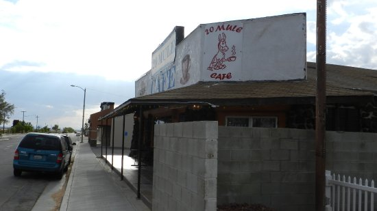 Boron, Kalifornien: Front of Resturant