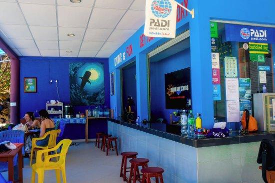 Pulau Perhentian Besar, Malaysia: dive center