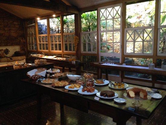 Senhora do Rosario: Café da manhã.